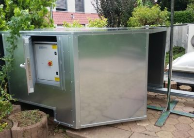 Schallschutz Kältegerät mit Zugang
