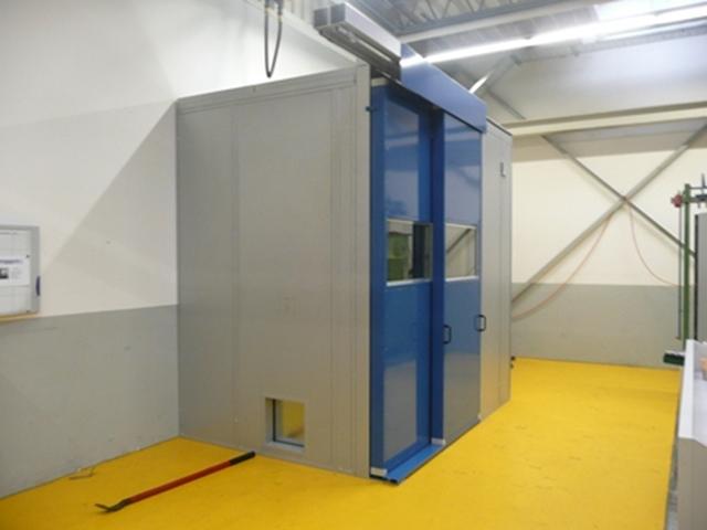 Lärmschutzkabinen / Schallschutzkabinen