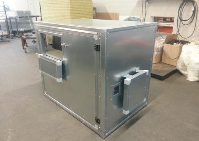 Lärmschutzbox angepasst