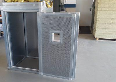 Lärmschutzbox für Seilpressung